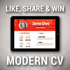 Like share en win een modern cv