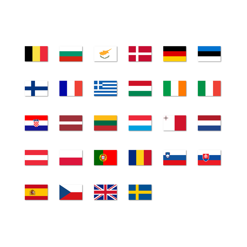 EU vlaggen