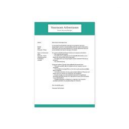 motivatiebrief template 4