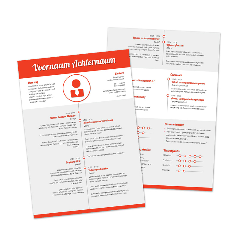 Premium cv template 3