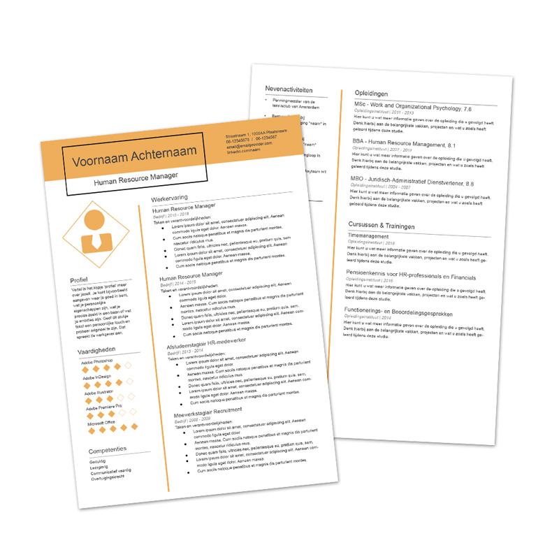 premium cv template 5