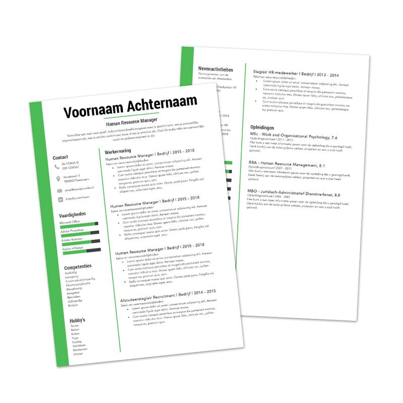 Premium cv template 6
