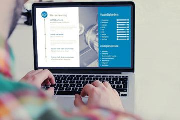 WETALENT Blog afbeelding Een modern cv opstellen: tips en voorbeelden