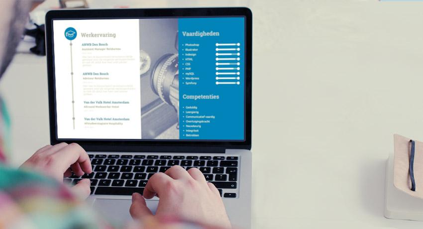 WETALENT blog afbeelding over: Een modern cv opstellen: tips en voorbeelden