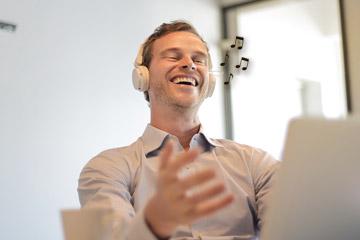 WETALENT Blog afbeelding De invloed van muziek op je werk