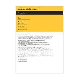 cv-template-valencia-motivatiebrief