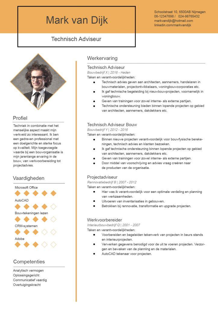 cv-voorbeeld-techniek-technisch-adviseur