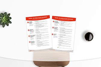 WETALENT Blog afbeelding Checklist: Het schrijven van jouw motivatiebrief!